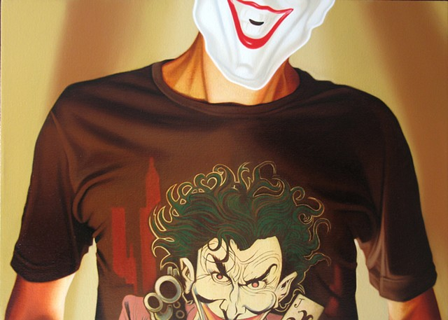Self Portrait as the Joker