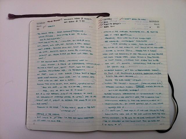 Diary Notes 3/5