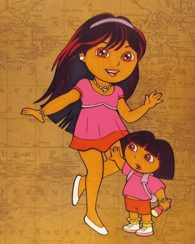 Dora Down Under
