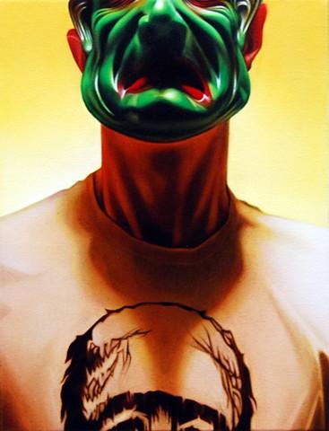 Self Portrait as Frankenstein's Monster