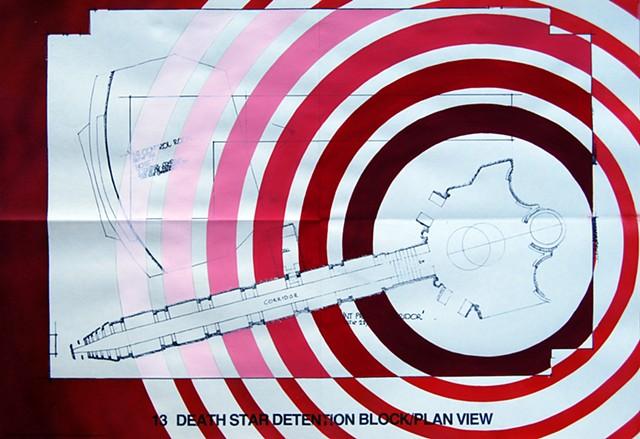 Death Star Detention Block Plan View