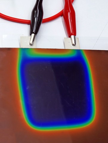 Liquid Crystal and Conductive Ink Research