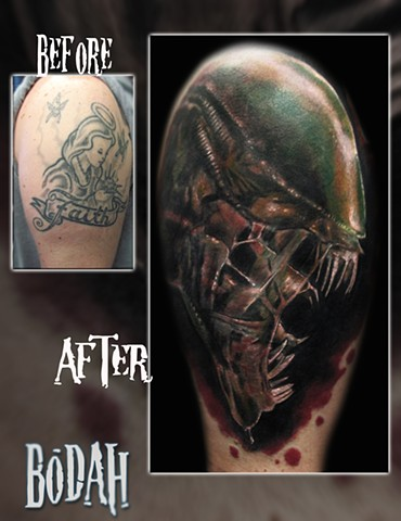 Tattoos by bodah for Best tattoo artists in ohio