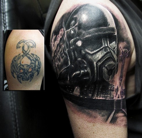 Fallout Start.. cover up