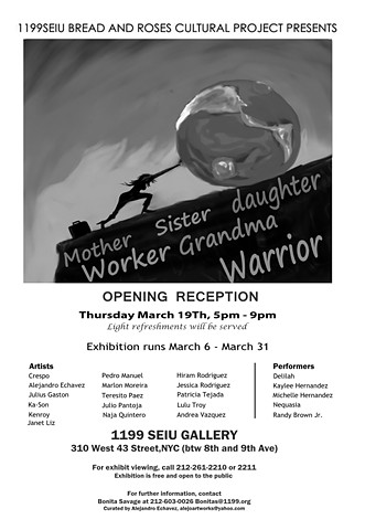 Herstory Art Show international women's month