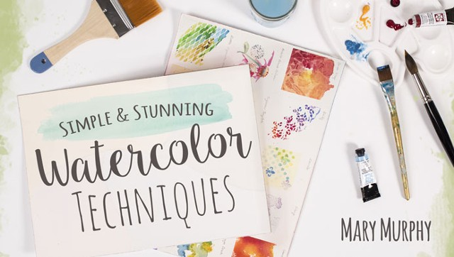 Simple & Stunning Watercolor Techniques