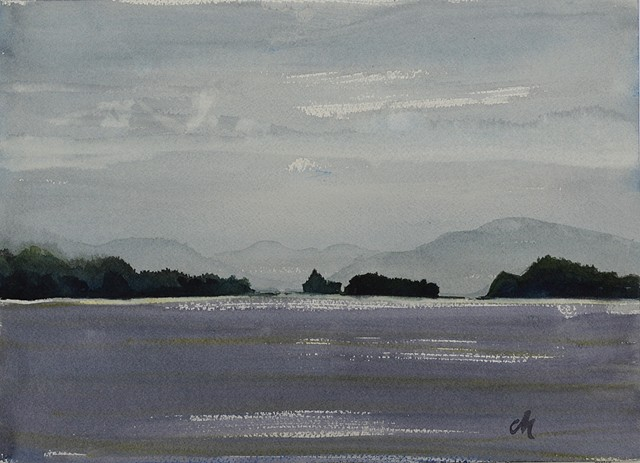 Lake George Plein Air 1