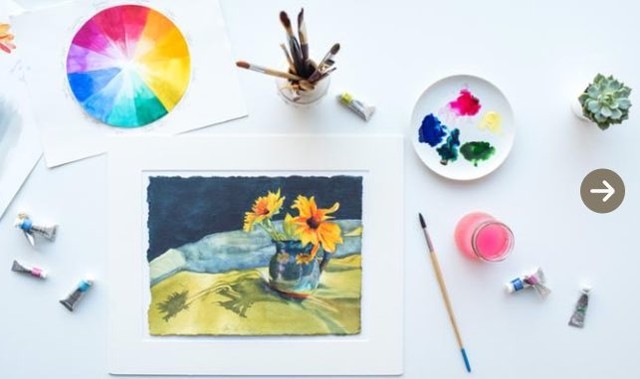 Startup Project: Watercolor Still Life