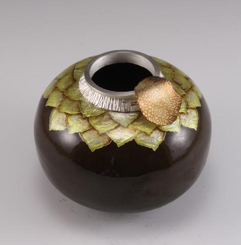 Brown Aspen Vessel (a)
