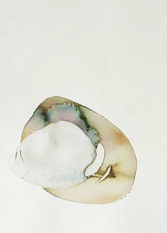 Tim Furzer Unified Theory Watercolor Abstract PermaStone