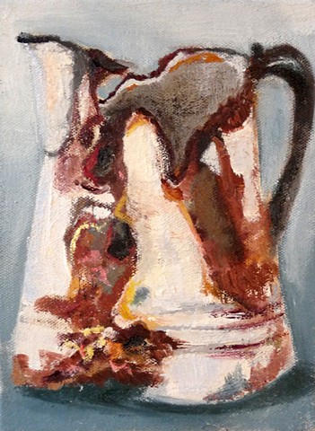 Rusted Pitcher