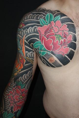 peony botan irezumi tattoo tattooagogo japanesetattoo