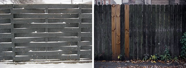winter fence / fall fence