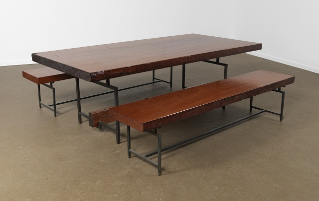 Slow Slab table and Benches