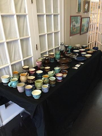 Nathaneal Huffman Pottery