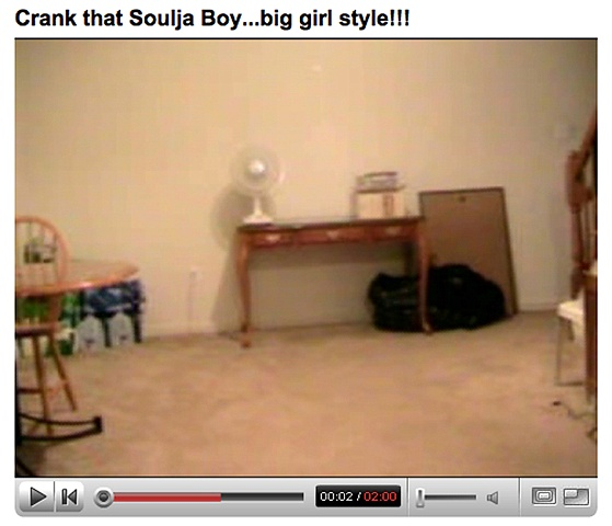 Crank that Soulja Boy……big girl style!!!