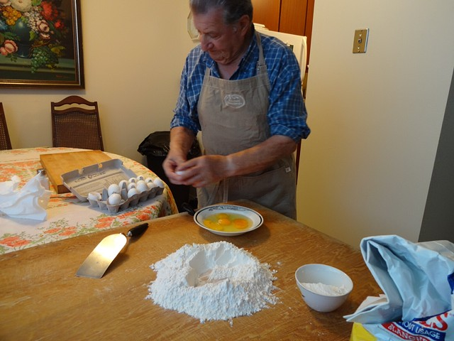 Kitchen in the Basement: Lessons from Italian Canadians Lesson 4: Joe Desimone Croustili and Pasta