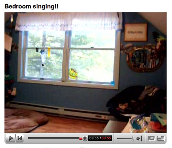 Bedroom Singing!!