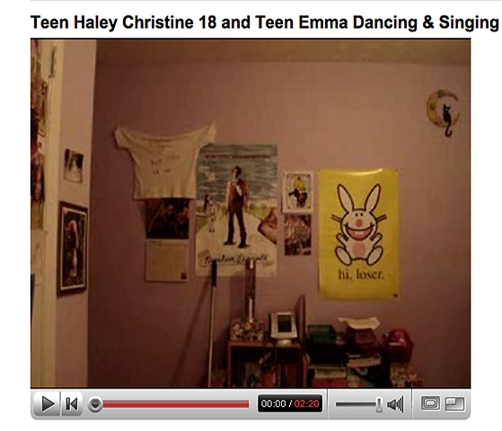 . Teen Haley Christine 18 and Teen Emma Dancing & Singing