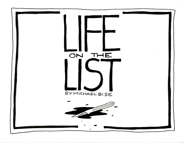 Michael Bise artist Life on the LIst