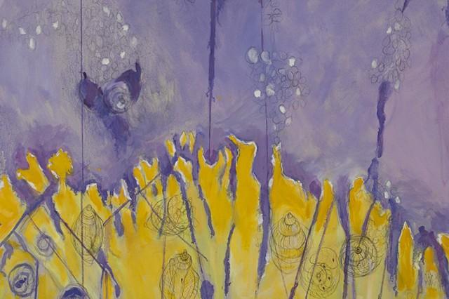 Janthina, janthina: The Violet Snail (detail)