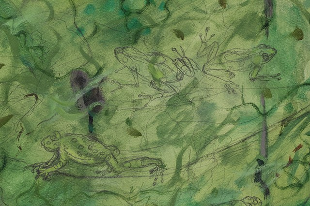 Ranas of the Rainforest (detail)