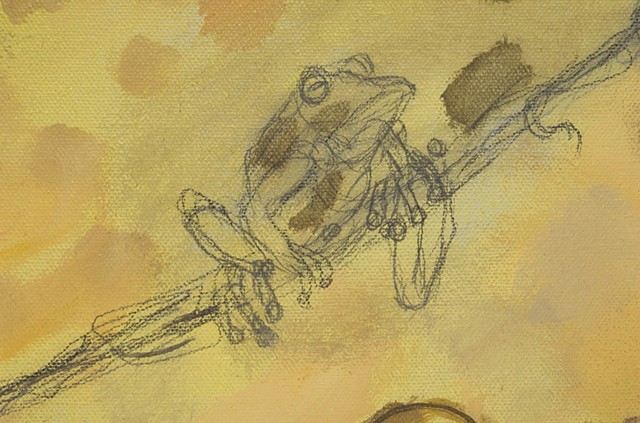 Ranas from the Rainforest (detail)