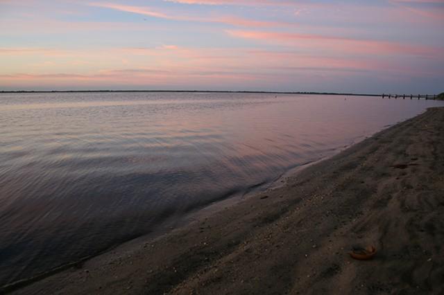 sunrise: August 7, 2012