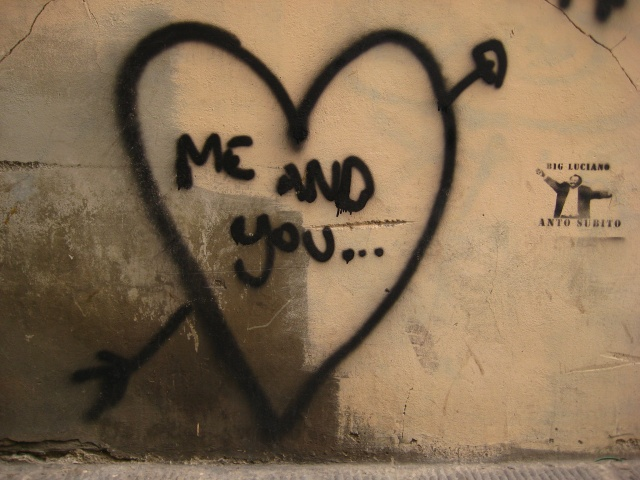 me and you...