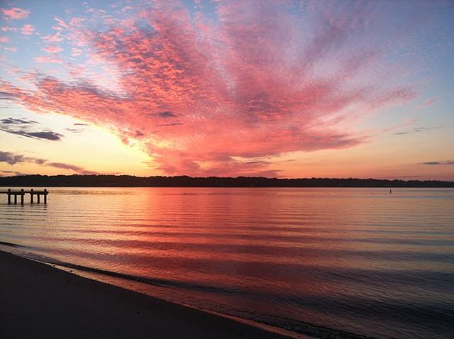 sunrise: August 4, 2013