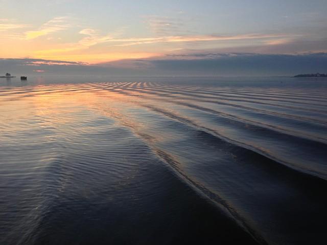 sunrise: January 9, 2013