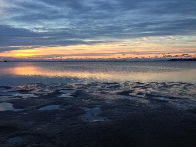 sunrise: January 3, 2013