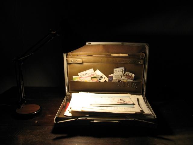 my dad's briefcase