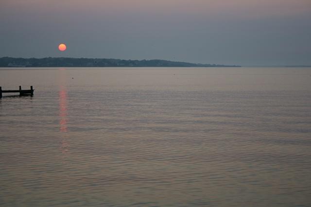 sunrise: August 20, 2010