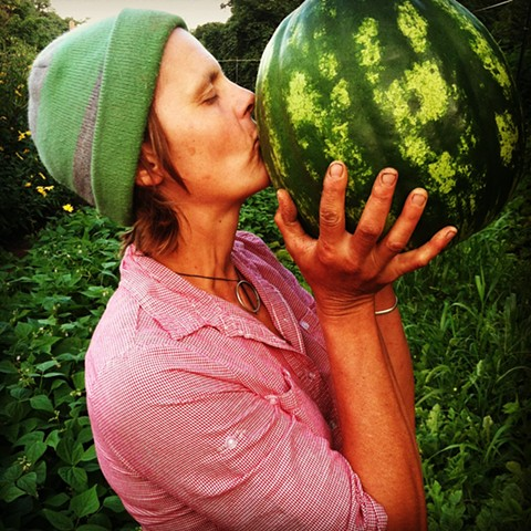Patty and Watermelon