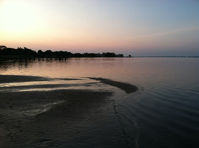supermoon sunrise: June 23, 2013
