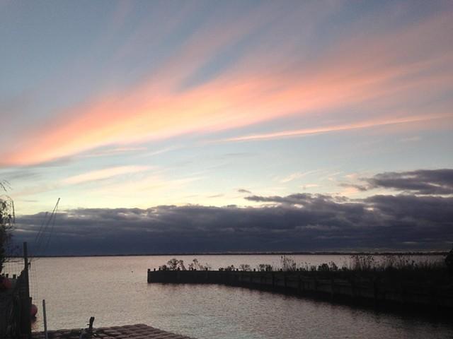 sunrise: November 1, 2012