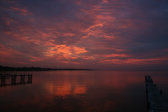 sunrise: September 3, 2010