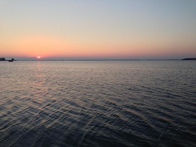 sunrise: January 8, 2013