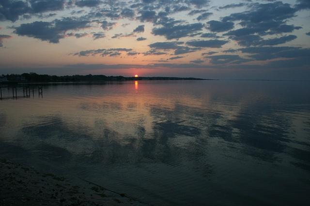 sunrise: May 1, 2010