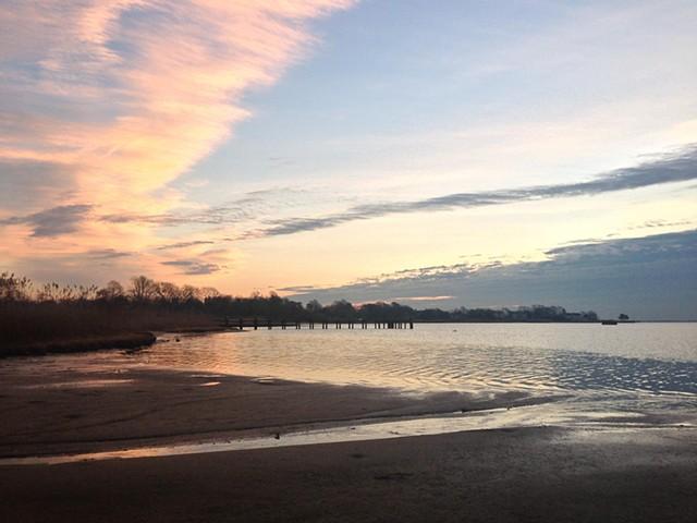sunrise: January 17, 2013