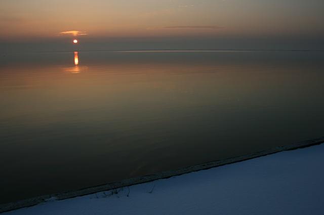 sunrise: January 30, 2011