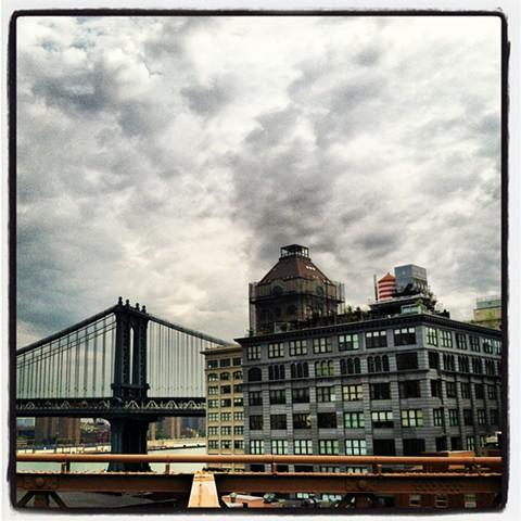 Brooklyn Bridge Looking East
