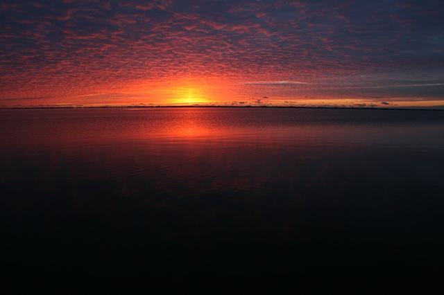 sunrise: January 17, 2011