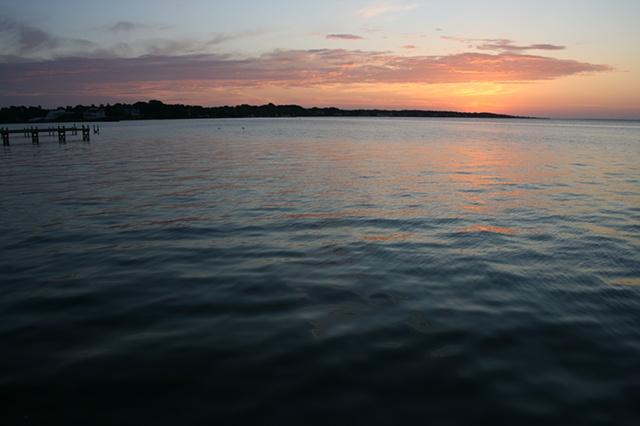 sunrise: September 7, 2010