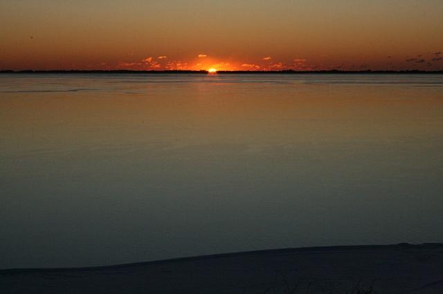 sunrise: December 22, 2009