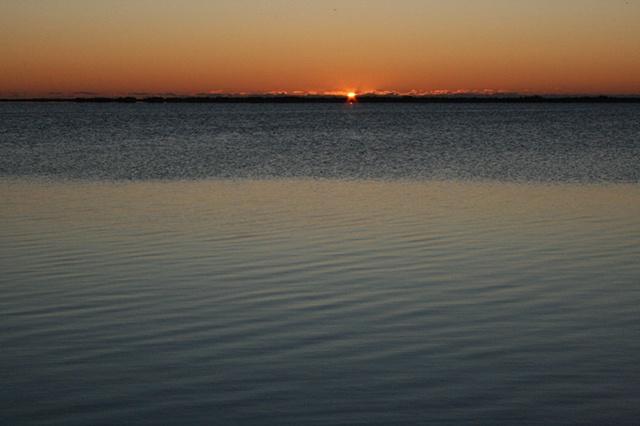 sunrise: January 10, 2010
