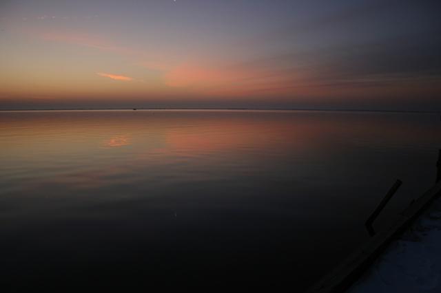 sunrise: January 1, 2011