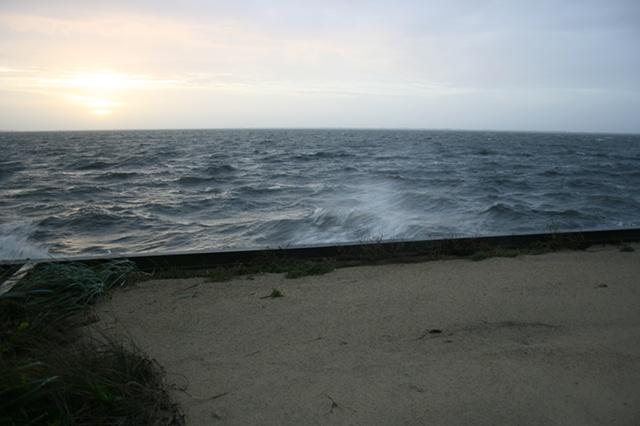 sunrise: October 1, 2010