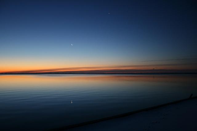 sunrise: January 31, 2011